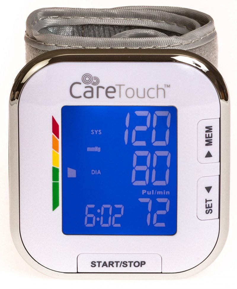 Care Touch Wrist Blood Pressure Cuff Monitor