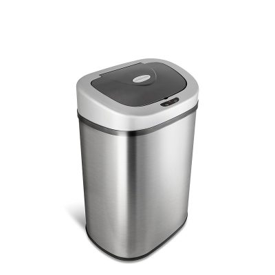 automatic touch free motion sensor trash can