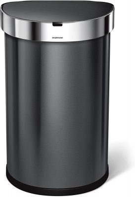 touchless automatic trash can for the kitchen
