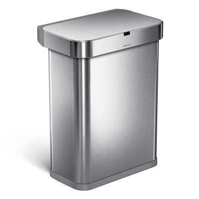 voice motion sensor trash can for kitchen
