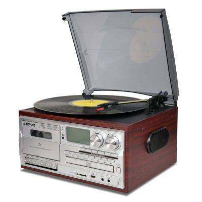 Vinyl vintage turntable