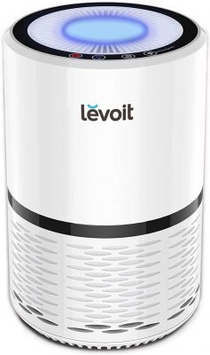 LEVOIT Air Purifier for Home Smokers Allergies and Pets Hair, True HEPA & High Efficiency Carbon Filter, Filtration System Cleaner