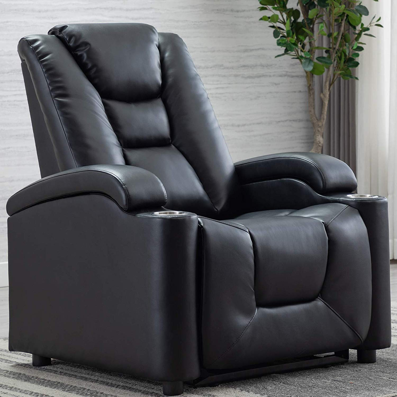 Picture of: Top 10 Power Recliner Chairs With Cup Holder And Usb Size Them Up