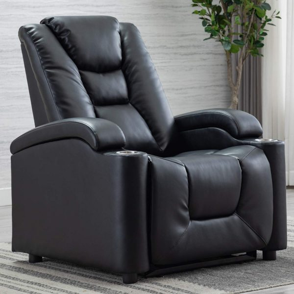 leather recliner with usb port