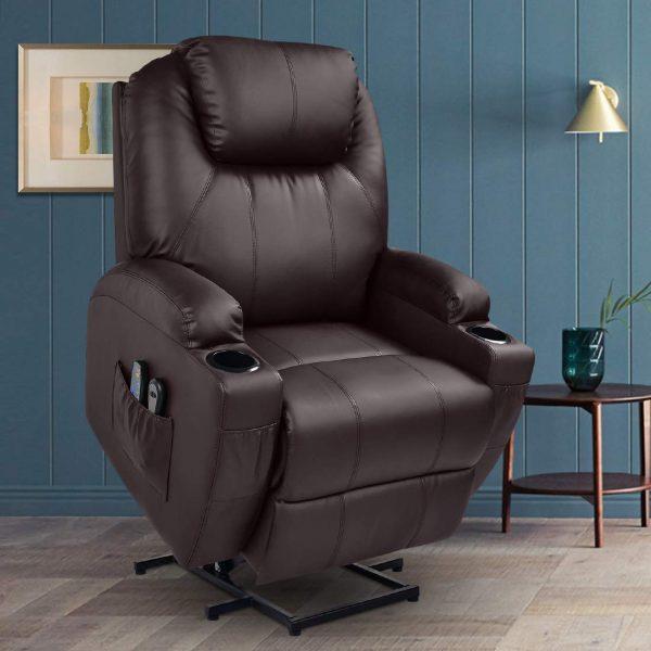 Power Lift massage recliner