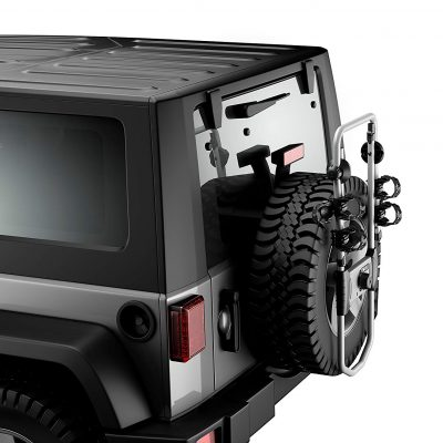 jeep wrangler bike rack thule
