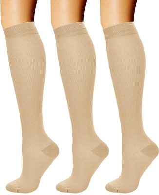 compression stocking with zipper