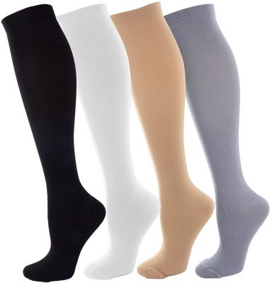 zippered compression socks men and women