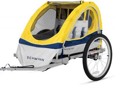 bike trailers safe for babies