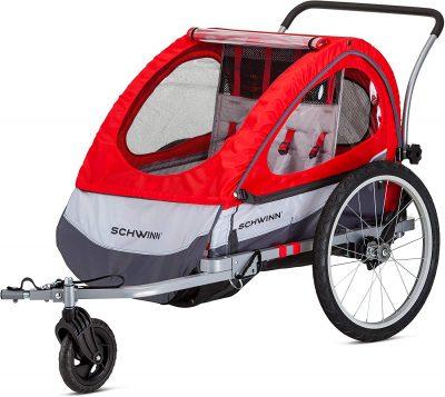 bike trailer baby safety