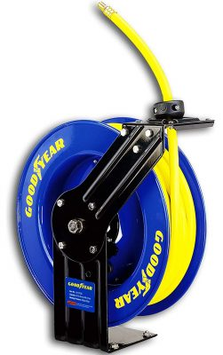 goodyear retractable air hose reel